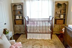 Vintage Finds: Baby Girl's Nursery