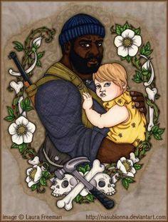 Tyreese & Judith TWD