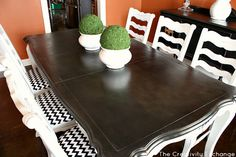 Rust-Oleum 2X spray paint is an affordable way to paint furniture and there are easy ways to distress spray painted furniture if you want to...