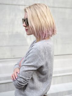 Dip dyed lila bob | Hair | Photo: Pupulandia