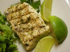 Cilantro-Lime Halibut from favfamilyrecipes.com #halibut #cilantro #lime #recipes #seafood