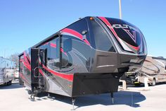 $84,890 - Used 2015 Dutchmen Voltage Fifth Wheel Toy Haulers For Sale In Bartow, FL - DCWC990838 - Camping World