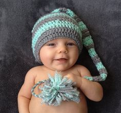 Adorable Baby Hats! by Little Shooting Stars! Perfect for Newborn and Baby Photography Sessions.