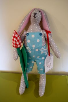 cotton Tilda's rabbit #tildasrabbit #easter #handmade #kokoart #cotton #handmadetoys
