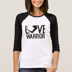 Love Warrior 3/4 Length Sleeve T-Shirt