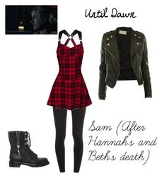 Until Dawn - Sam (After Hannah's and Beth's Death) by lov3suckz on Polyvore featuring beauty, Splendid and Sergio Rossi