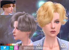 Emma's Simposium: Free Sims 4 Hair Pack #032 by Newsea - Gifted/Dona...