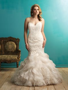Allure Bridals : Women Collection : Style W330 : Available colours ...