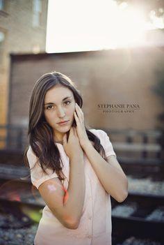 Cute senior pose...Love Stephanie Pana's work!