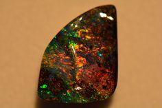 Multicoloured Australian Boulder Opal
