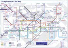 Sponsored Tube Map
