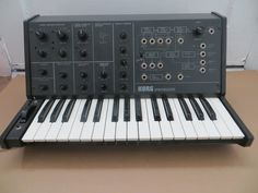 MATRIXSYNTH: Great Vintage Korg MS-10 SN 132684 with MIDI