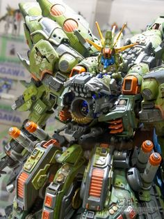 GUNDAM GUY: Gunpla Builders World Cup 2013 - Open Course Champion & Finalists Build On Display @ Gundam Front Tokyo (Diver City, Odaiba, Tok...