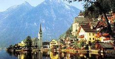 Zell am See, Austria What a beautiful place...love to go back.