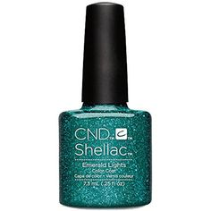 CND Shellac Nail Polish, Emerald Lights, 0.25 fl. oz. >>> Find out more about the great product at the image link. (This is an affiliate link and I receive a commission for the sales) #FootHandNailCare