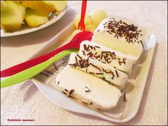 Înghețată de pepene Cheesecake, Dairy, Desserts, Food, Tailgate Desserts, Deserts, Cheesecakes, Essen, Postres