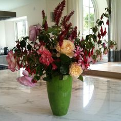 Last cut flowers of 2011 from my #cotswolds garden by Charlotte & Co., via Flickr