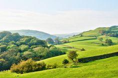 Sowie die erhabenen geschwungenen Landschaften überall in der britischen Natur: | 15 farbenfrohe Landschaften,…
