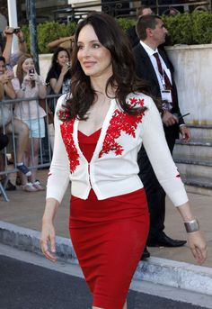 Madeleine Stowe Photos - Celebrities Outside The Hotel De Paris At The 52nd Monte Carlo Television Festival - Zimbio