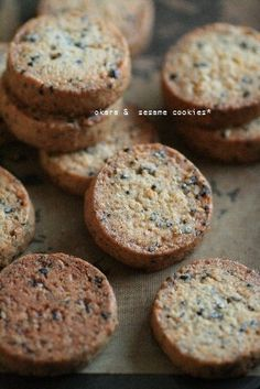 Sesame cookie
