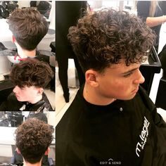 Mens Perm Perms In 2019 Mens Perm Perm Permed Hairstyles