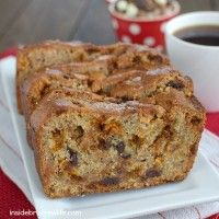 Recipe Submitted By: Inside BruCrew Life Click on the link below for the Triple Chip Banana Bread Recipe!  Triple Chip Banana Bread