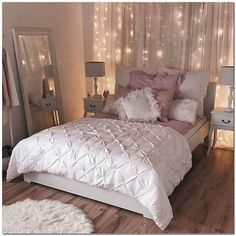 Decorating Small Apartment Ideas On Budget (113) U2013 The Urban Interior  Bedroom Decor Lights