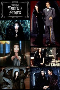 #TheAddamsFamily (1991) - Morticia Addams