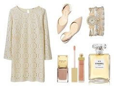 """Pretty and light"" by sofia-lodhi ❤ liked on Polyvore featuring maurices, Paul Andrew, AERIN and Chanel"