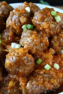 Pineapple Meatballs -