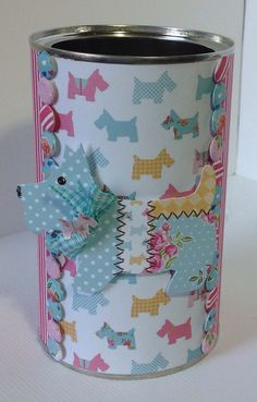Box designed by Marie Chillmaid using our Paper Artistry kit. Double sided Kitsch papers, Kitsch die cuts and doubled sided Candi.