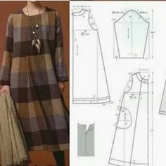 Sewing Hacks, Sewing Tutorials, Sewing Projects, Knitting Projects, Dress Sewing Patterns, Clothing Patterns, Sewing Blouses, Fashion Sewing, Sewing Techniques