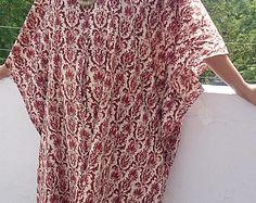caftan, short kaftan, kaftan, short kaftan, batik dress summer dress women's gown cotton nightie sleep wear batik robe