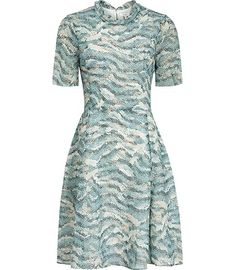 Reiss Somerset Printed Dress