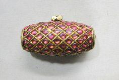 Vintage antique 20 carat Gold pendant necklace amulet madliya Rajasthan India