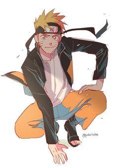 Naruto (not my drawing) Anime Naruto, Naruto Fan Art, Sarada Uchiha, Naruto Shippuden Anime, Naruto And Sasuke, Gaara, Kakashi, Manga Anime, Minato Kushina