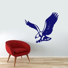 Flying Eagle Wall Decals Wall Decor Stickers