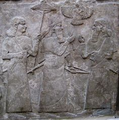 """5l - Ashur flys above, directing events on the ground, Ashur is known as the god whom kings swore """"goes before me"""" clearing out any major threats from his enemy, deciding the difficulty of victory, length of time it takes, amount of casualties, what to do with captives, & just about everything else, just like the Hebrews when they entered into Canaan through war & total destruction"""