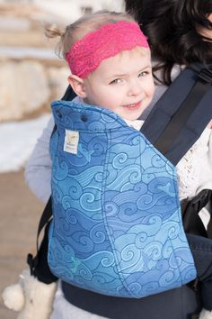 1bd9b83b452 02 12 16 Riptide full panel on navy straps. Baby Wearing