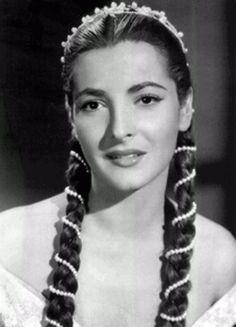 Alma Rosa Aguirre, hermana de Elsa Aguirre - Actriz Mexicana