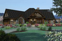 Craftsman Style House Plan - 3 Beds 2 Baths 1848 Sq/Ft Plan #120-171 Exterior - Front Elevation - Houseplans.com