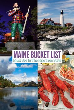 Amazing sites to see in Maine. Must add these to your bucket list.