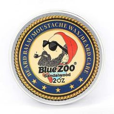 Blue ZOO Men Organic Beard Oil Balm Moustache Wax Styling Beeswax Moisturizing Smoothing Gentlemen Beard Care Natural Beard Balm I www. Natural Beard Oil, Natural Man, Mustache Wax, Moustache, Beard Wax, Men Beard, Beard Barber, Epic Beard, Beard Oil And Balm
