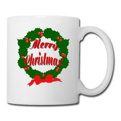 This Merry Christmas Reef Cocoa Mug is On Sale every day of the year at PersonalizedSouvenirs.com.