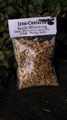 1 oz Devils Shoestring by TheIronCauldron on Etsy, $5.99