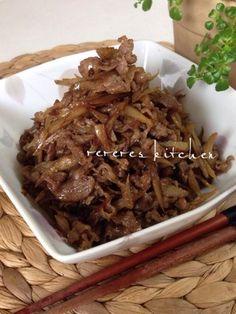 ごはんが進む!牛肉とごぼうのしぐれ煮|レシピブログ