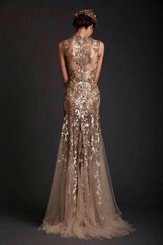 Elegant evening gown [ HGNJShoppingMall.com ] #Dresses