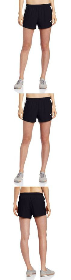Puma Women's Race Short, New Navy, X-Large windstopper active sheet 2 layer laminate. very lightweight materials for easy protability and additional convenience. reflective elements increase visibility in low light conditions. flap construction for easy access and additional convenience. coloured reflective Puma Cat logo on left leg.  #PUMA #Sports