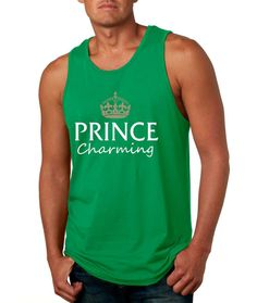 Men's Tank Top Prince Charming Cool Funny Humor Top