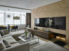 Conforto e sofisticação definem essa sala!